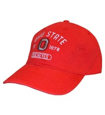 Top of the World Ohio State Buckeyes Red Adjustable Hat