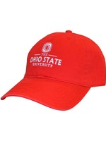 Top of the World Ohio State University Red Adjustable Hat