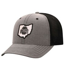 Top of the World Ohio State Buckeyes Blackline Adjustable Mesh Back Hat