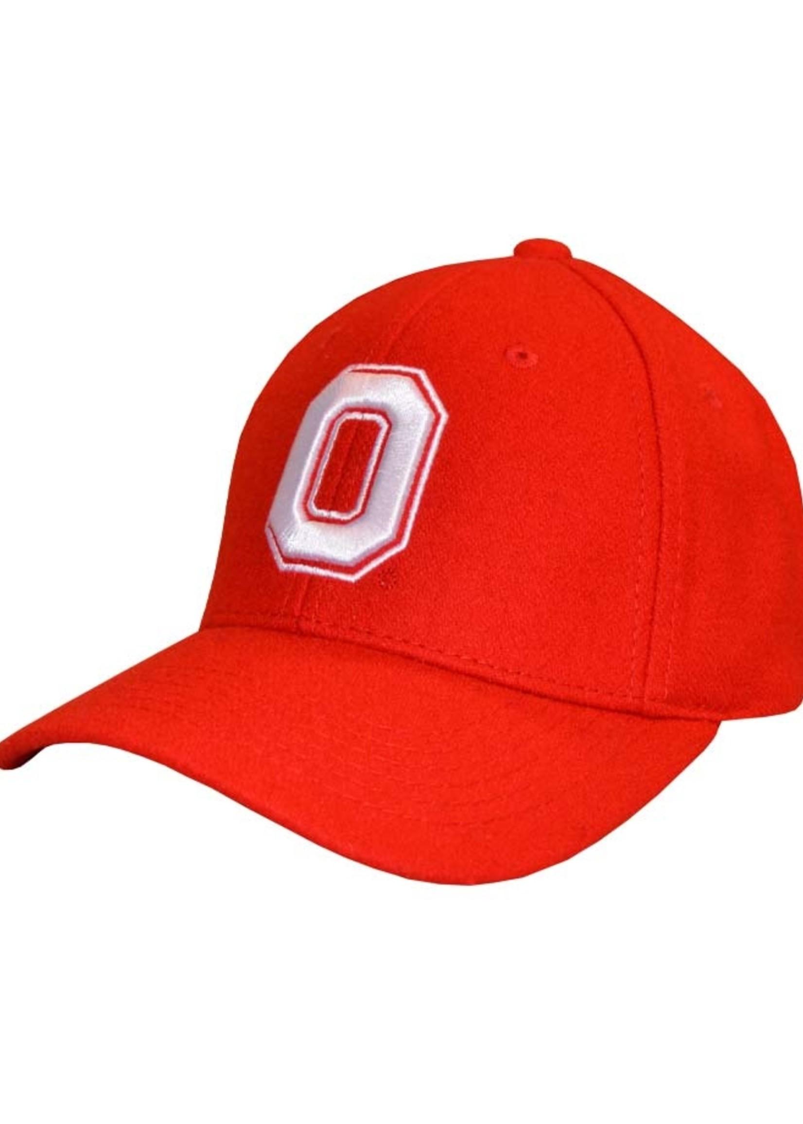 Top of the World OHIO STATE BUCKEYES BLOCK O ADJUSTABLE HAT