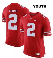 "Nike Ohio State Buckeyes #2 ""Chase Young"" Youth Replica Jersey"