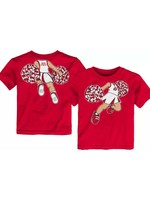 Ohio State Buckeyes Toddler Pom Pom Cheer T-Shirt