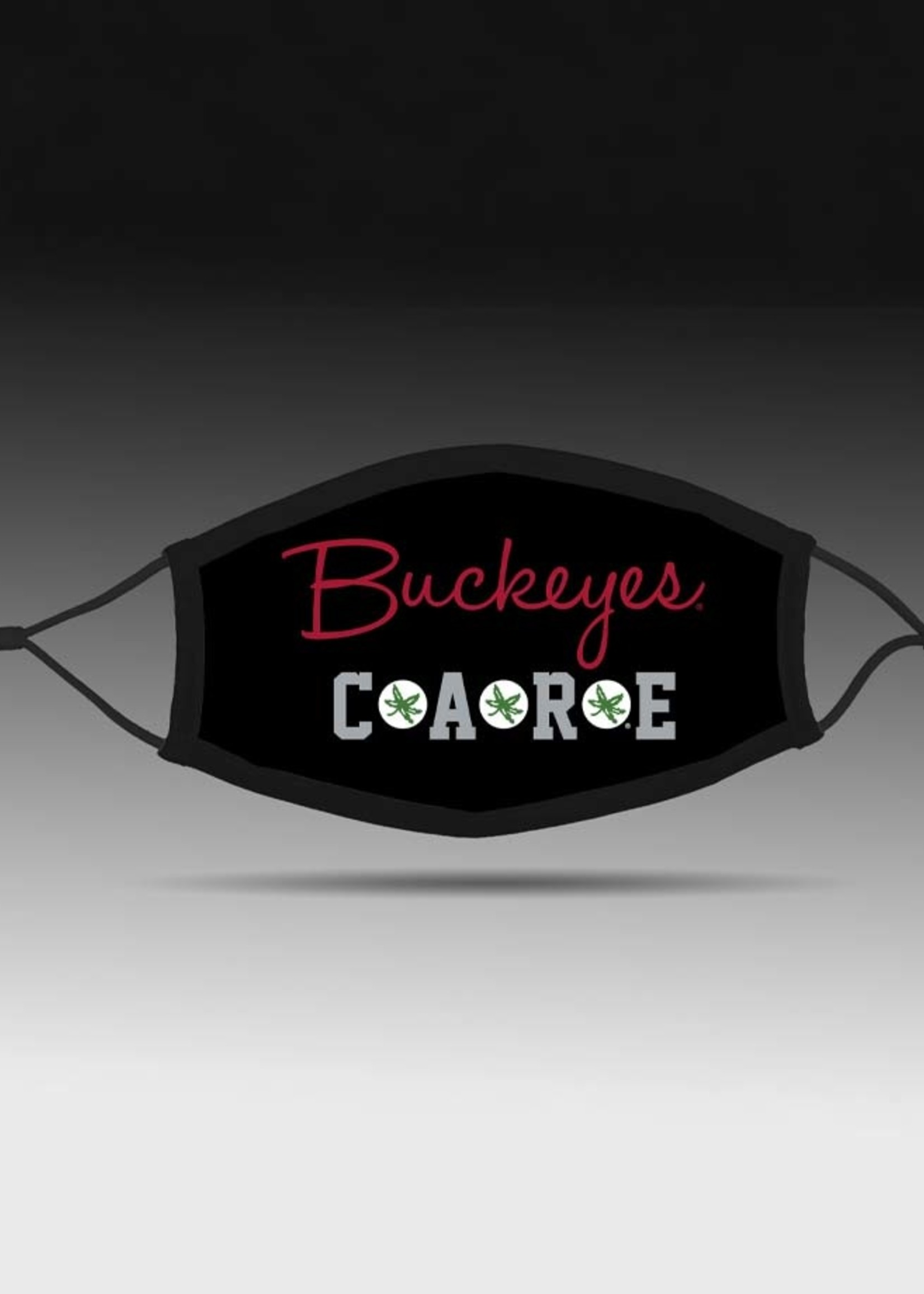 Bend Buckeyes Care Face Covering Adjustable Fit
