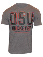 Ohio State Buckeyes Men's Double Dye Flex T-Shirt