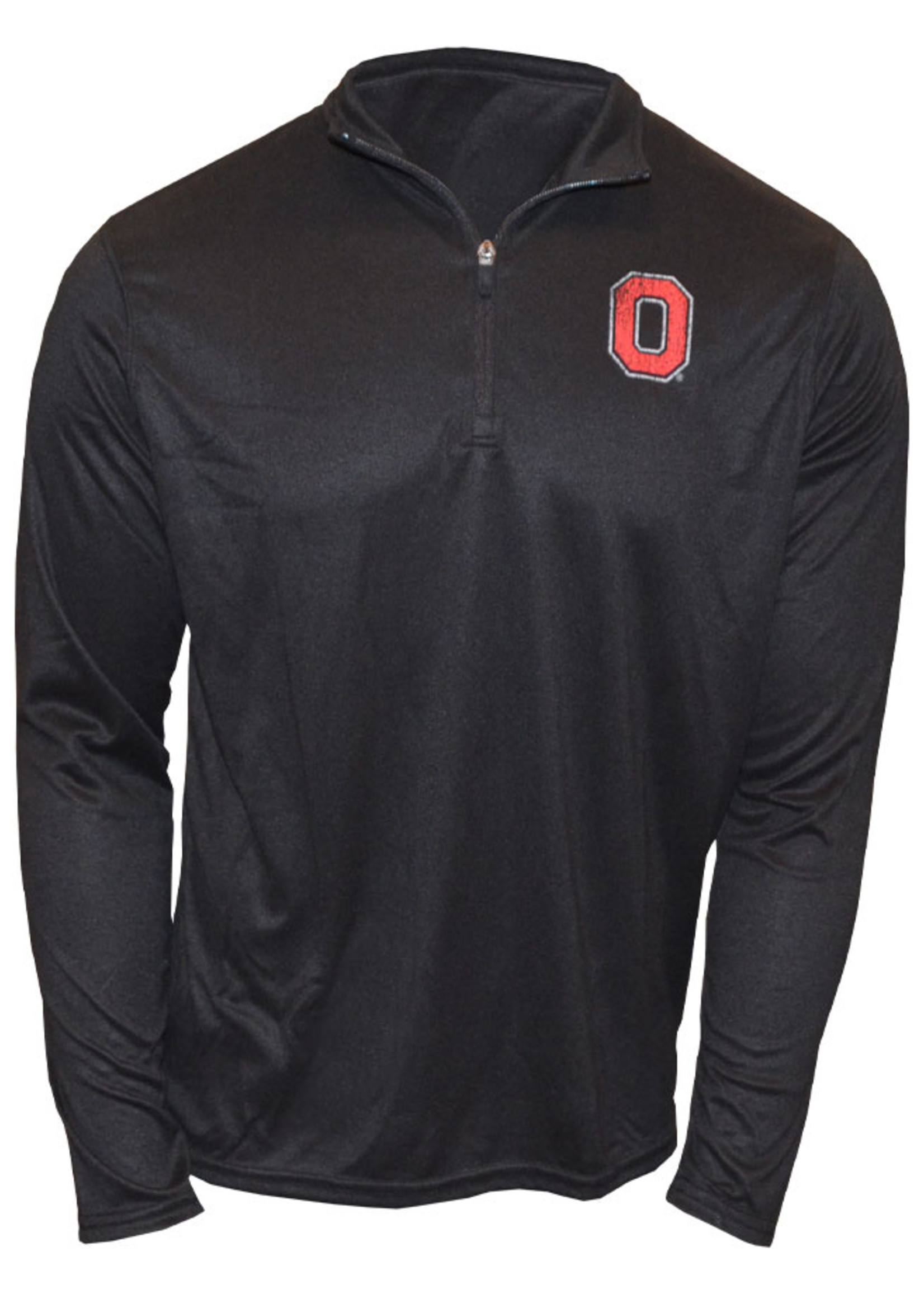 Ohio State Buckeyes Block O Long Sleeve 1/4 Pullover