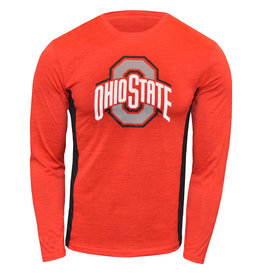 Ohio State Buckeyes Athletic O Red Long Sleeve Tee