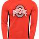 Ohio State Buckeyes Athletic O Red Long Sleeve Tee
