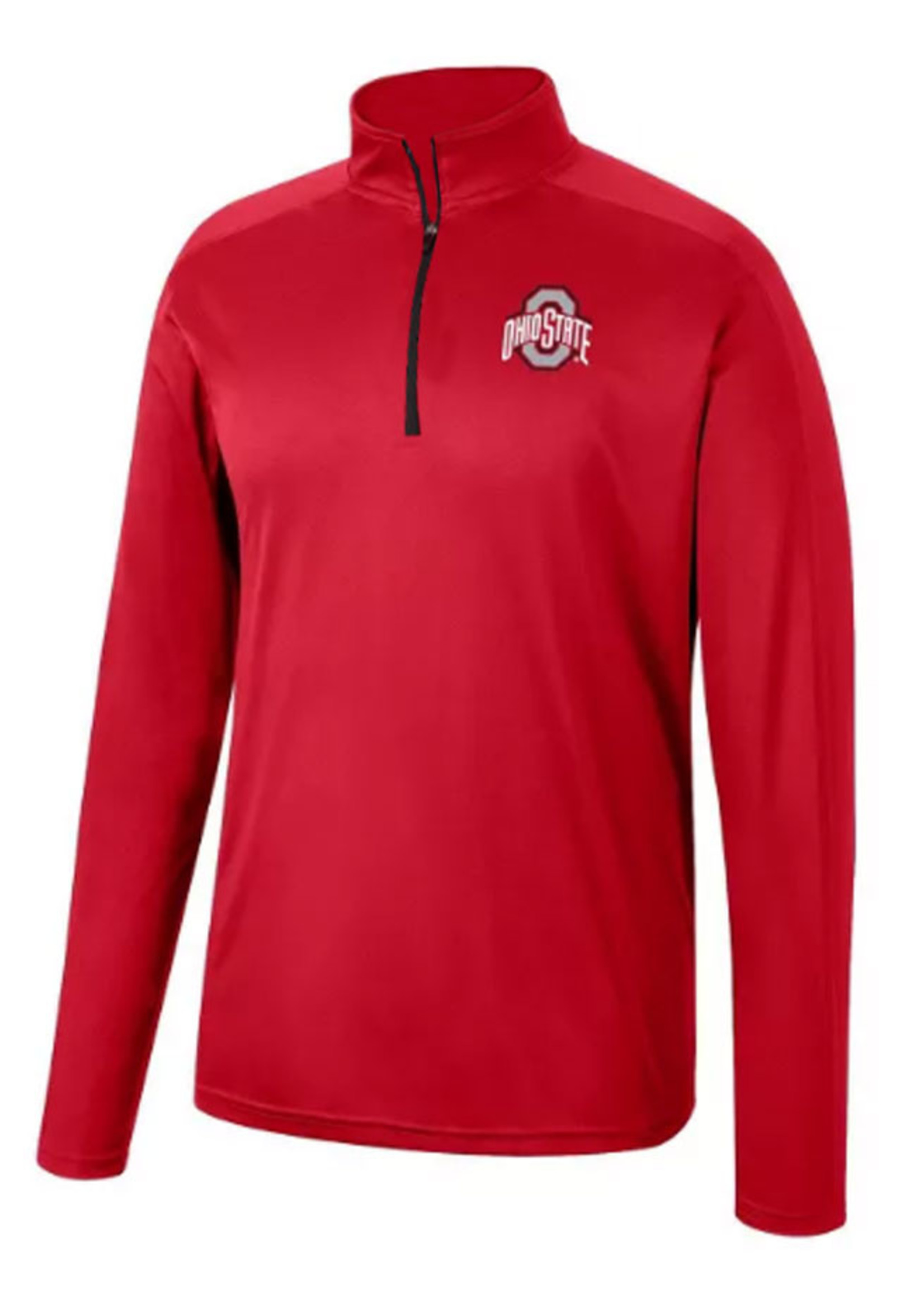 Top of the World Ohio State Buckeyes Red Quarter-Zip Pullover