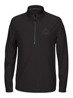 Ohio State Buckeyes Black Long Sleeve 1/4 Zip Pullover