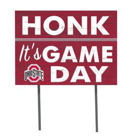 Ohio State Buckeyes ''Honk! It's Game Day'' Yard Sign