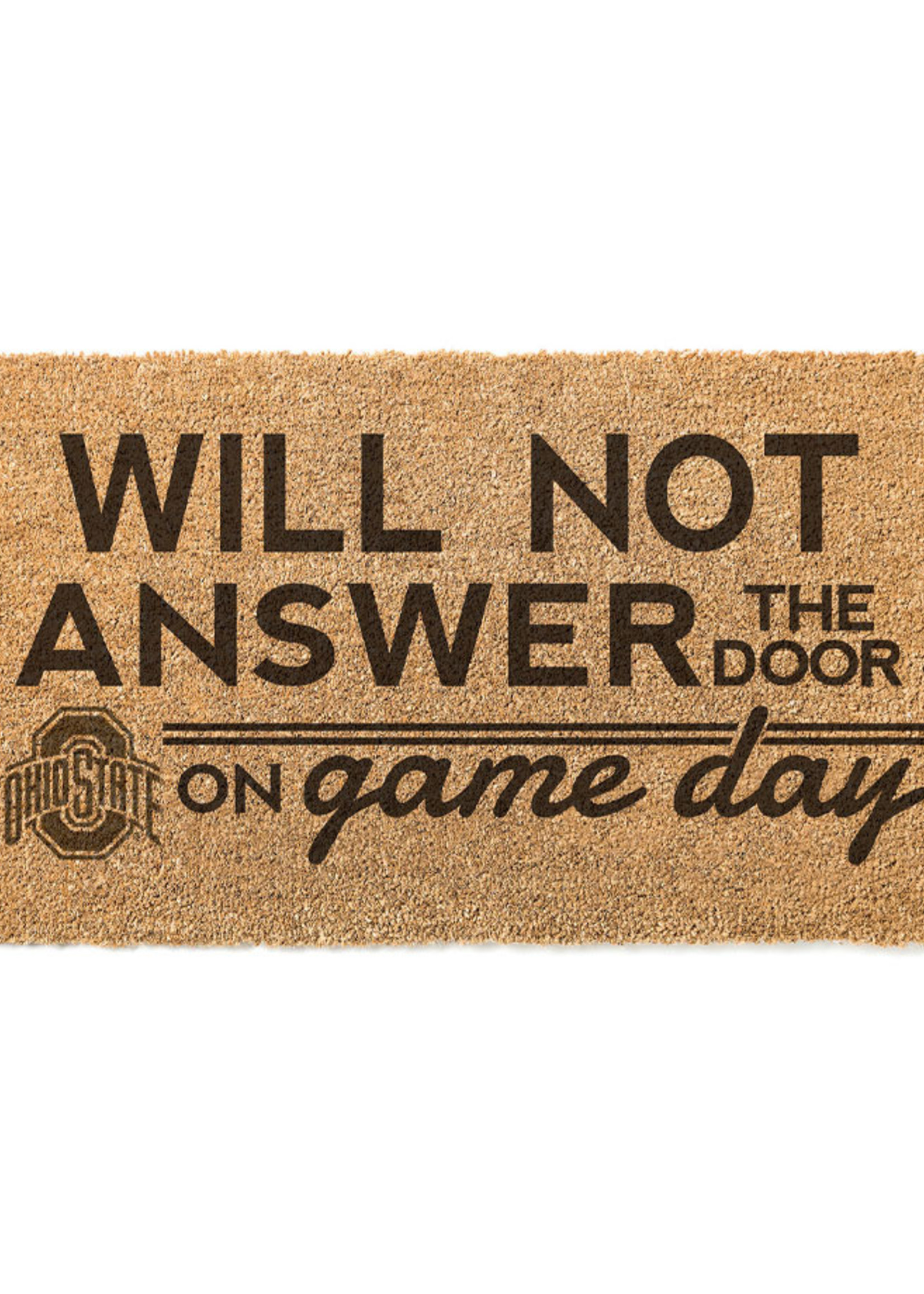 "Ohio State Buckeyes ""Game Day"" Door Mat"