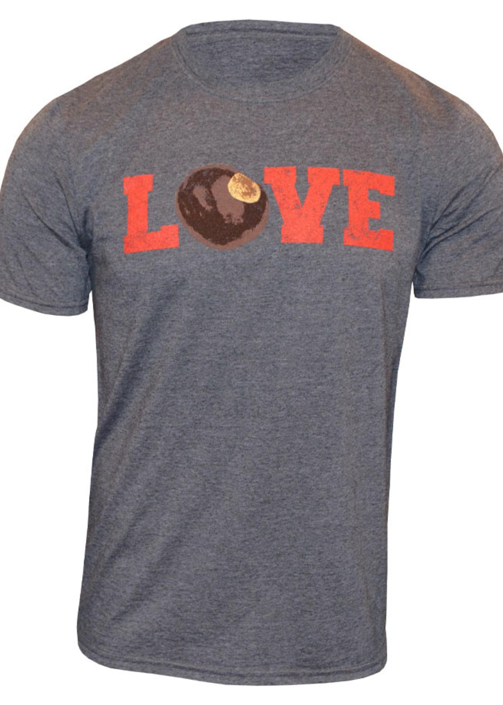 Ohio State Buckeyes Love T-Shirt