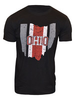 Ohio Helmet Stripe State T-Shirt