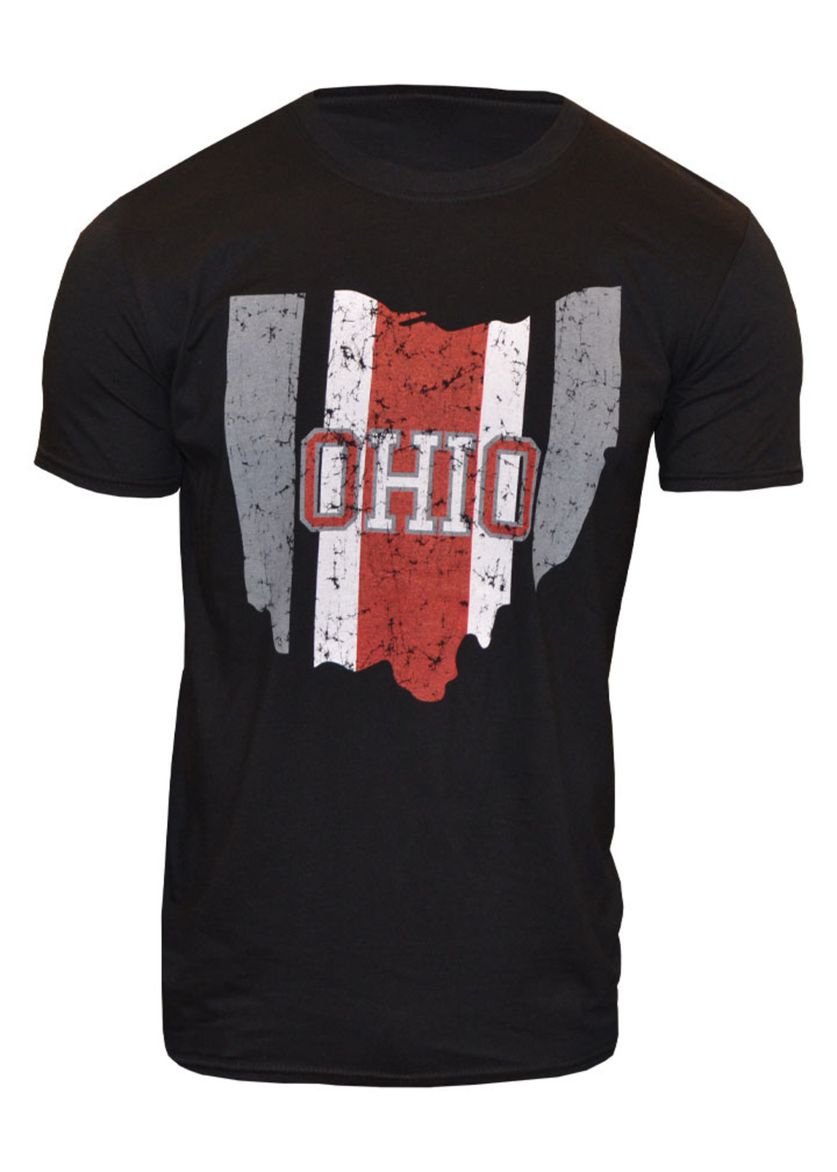 Ohio Helmet Stripe State T-Shirt