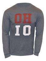 Ohio State Buckeyes OH-IO Long Sleeve Shirt