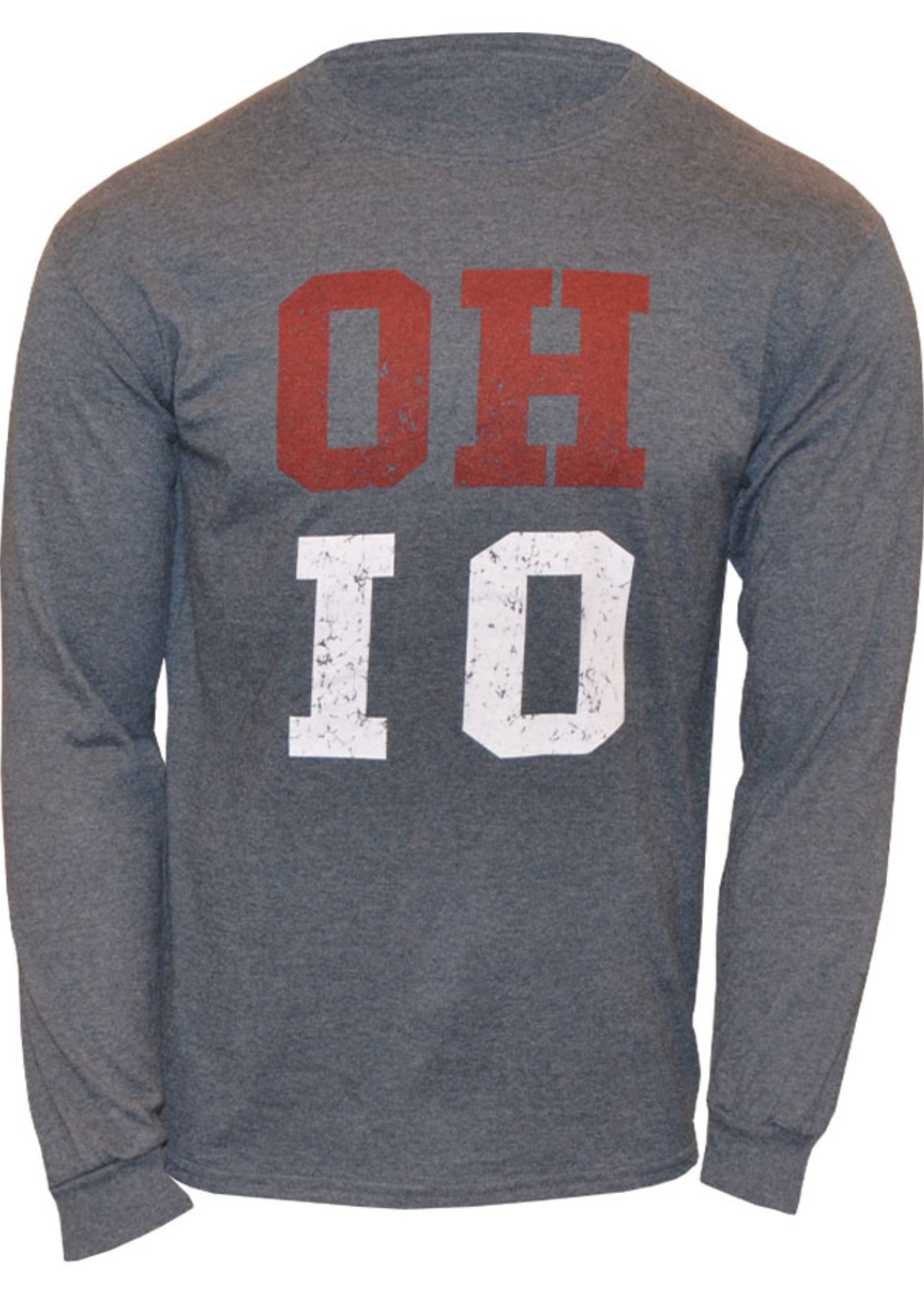 Ohio State Buckeyes OH-IO Long Sleeve Shirt