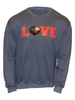 Ohio State Buckeyes Love Crew Sweatshirt