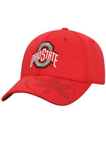Top of the World Ohio State Buckeyes Pitted Memory Fit Flex Fit Hat - M/L