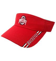 Ohio State Buckeyes Alert Adjustable Visor