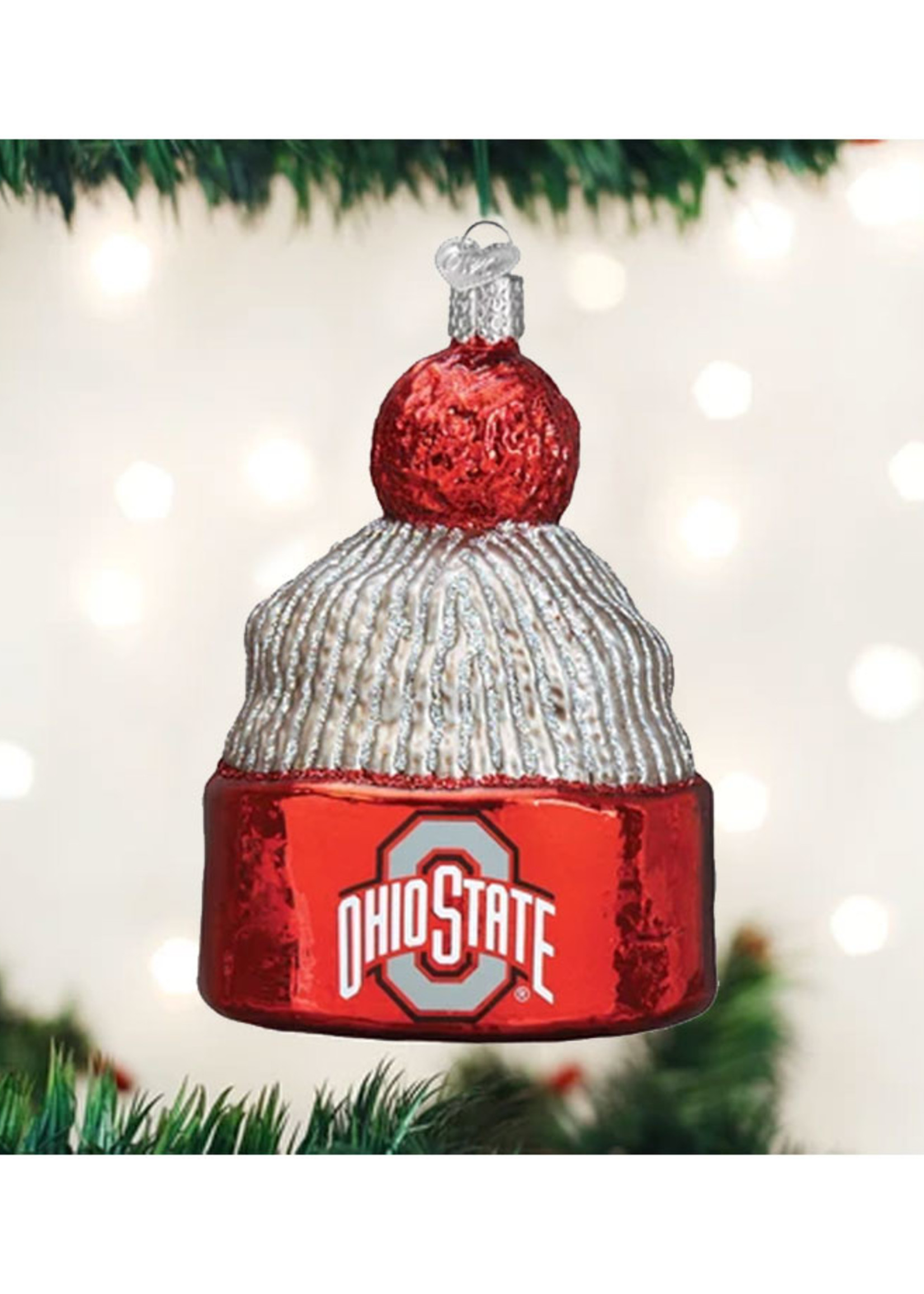Old World Christmas Ohio State Beanie Ornament