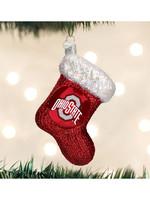 Old World Christmas Ohio State Stocking Ornament