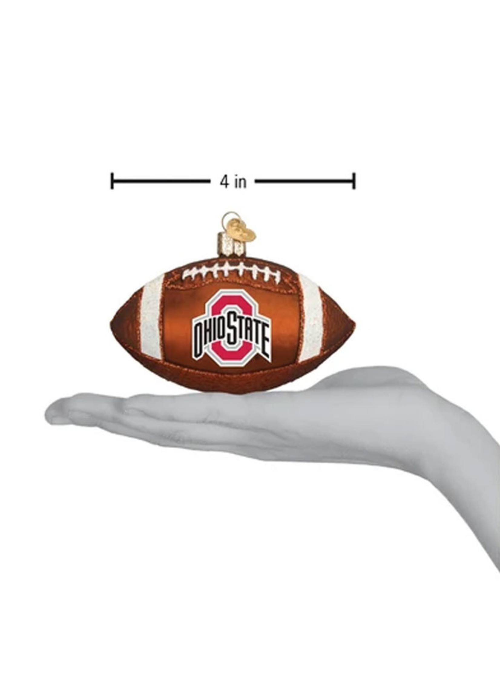 Old World Christmas Ohio State Football Ornament
