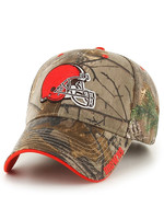 Cleveland Browns Realtree Camouflage Adjustable Hat