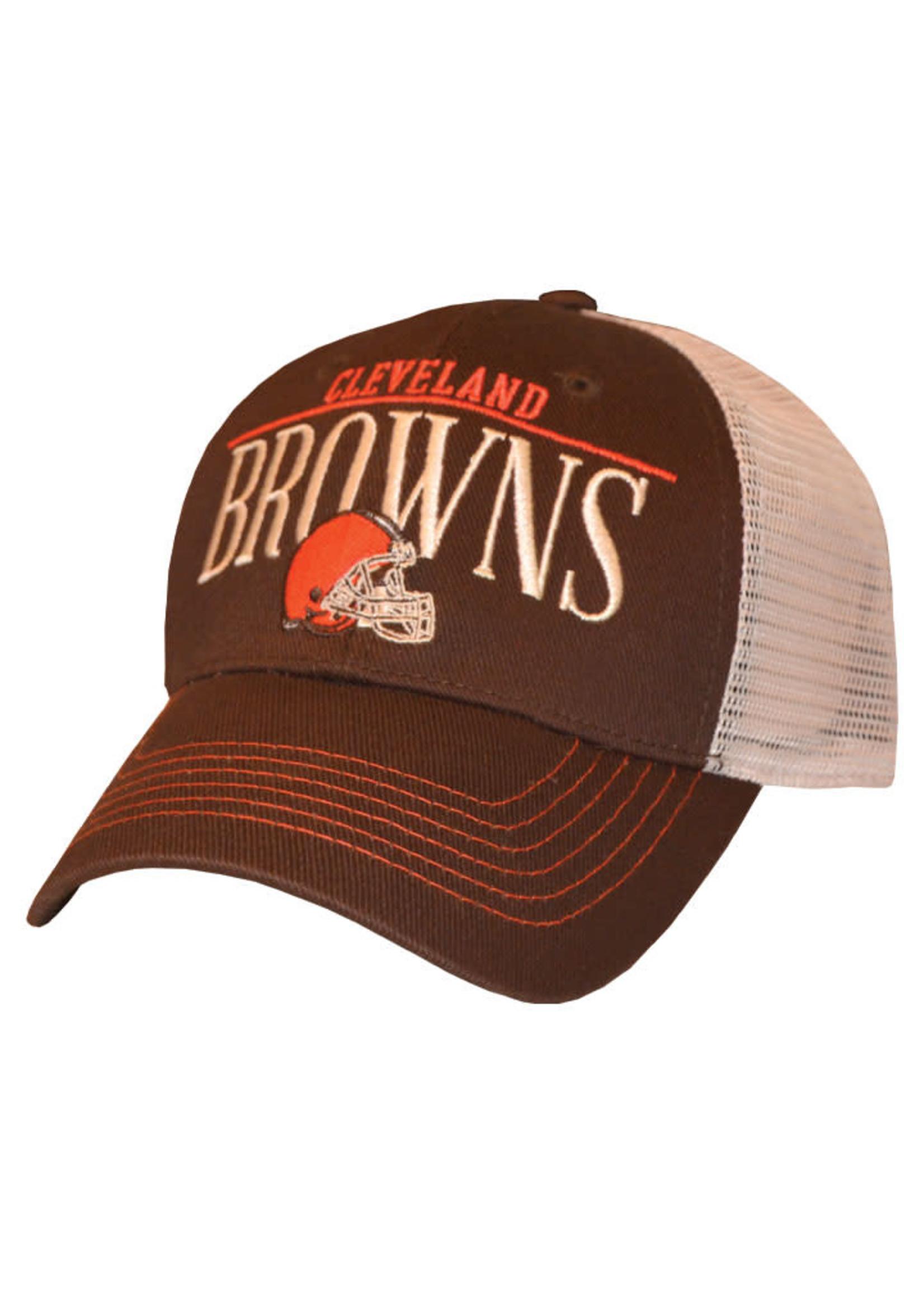 Cleveland Browns Straightaway Trucker Snapback