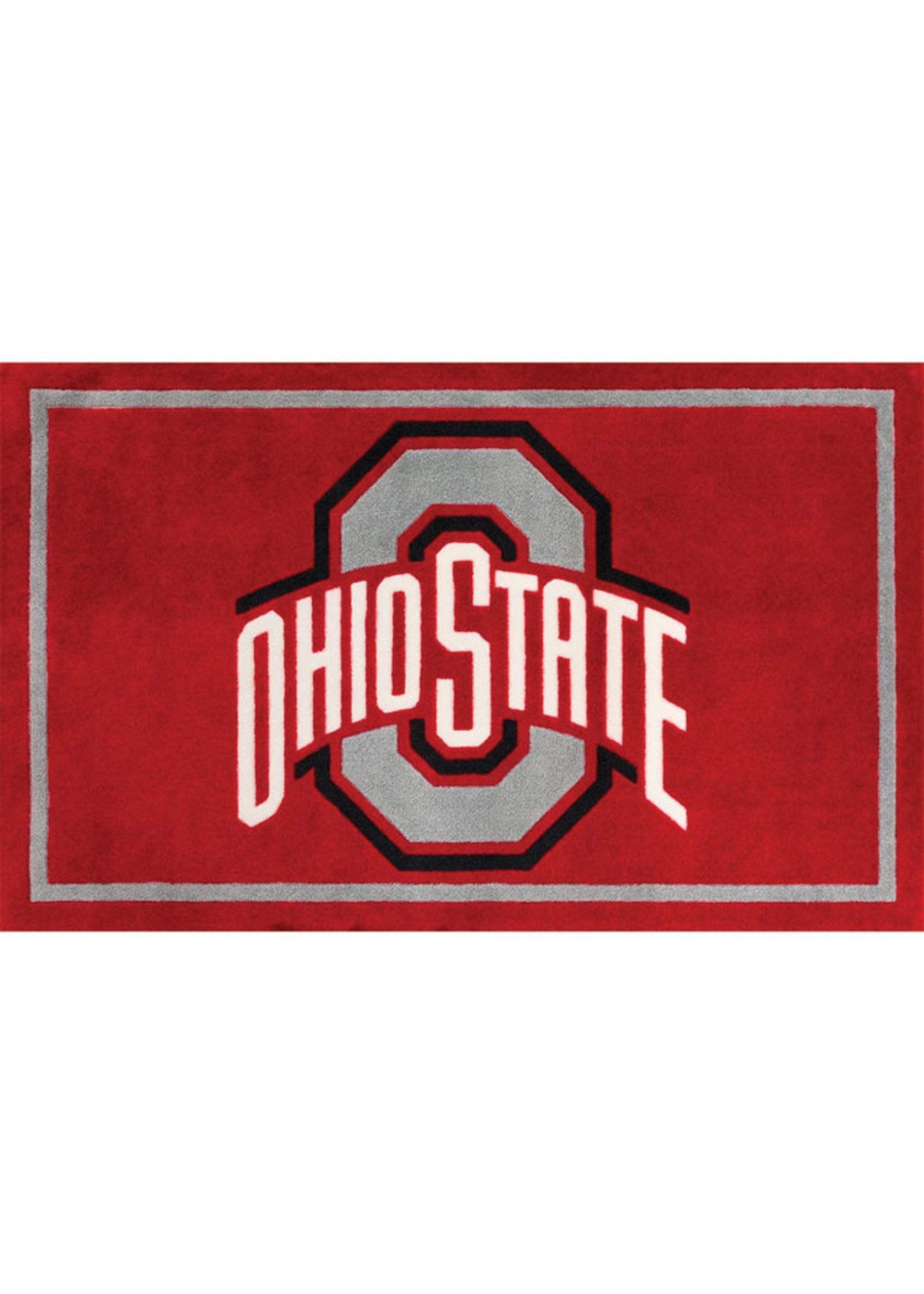 "Ohio State University 20""X30"" Logo Area Rug"
