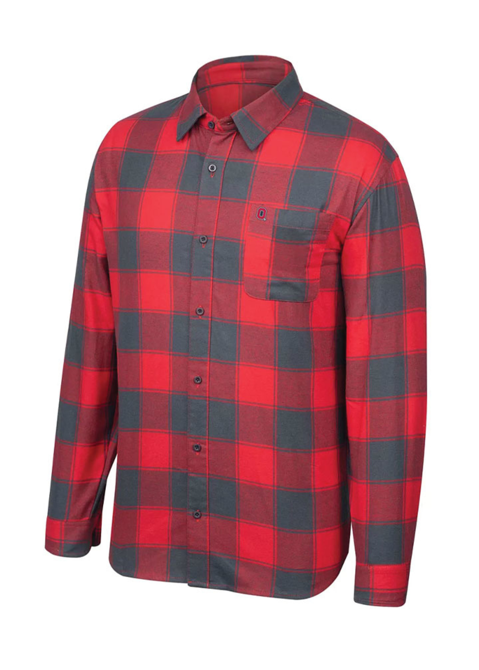 Ohio State Buckeyes Men's Flannel Shirt