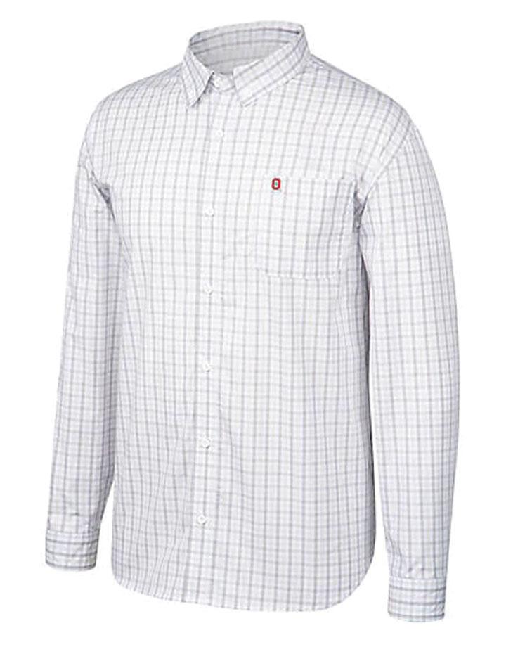 Ohio State Buckeyes No Excuse Woven Dress Shirt