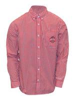 Ohio State Buckeyes Checkered Dress Shirt