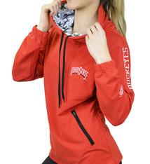 Bend Ohio State Buckeyes Snorkel Neck Hoodie - Red