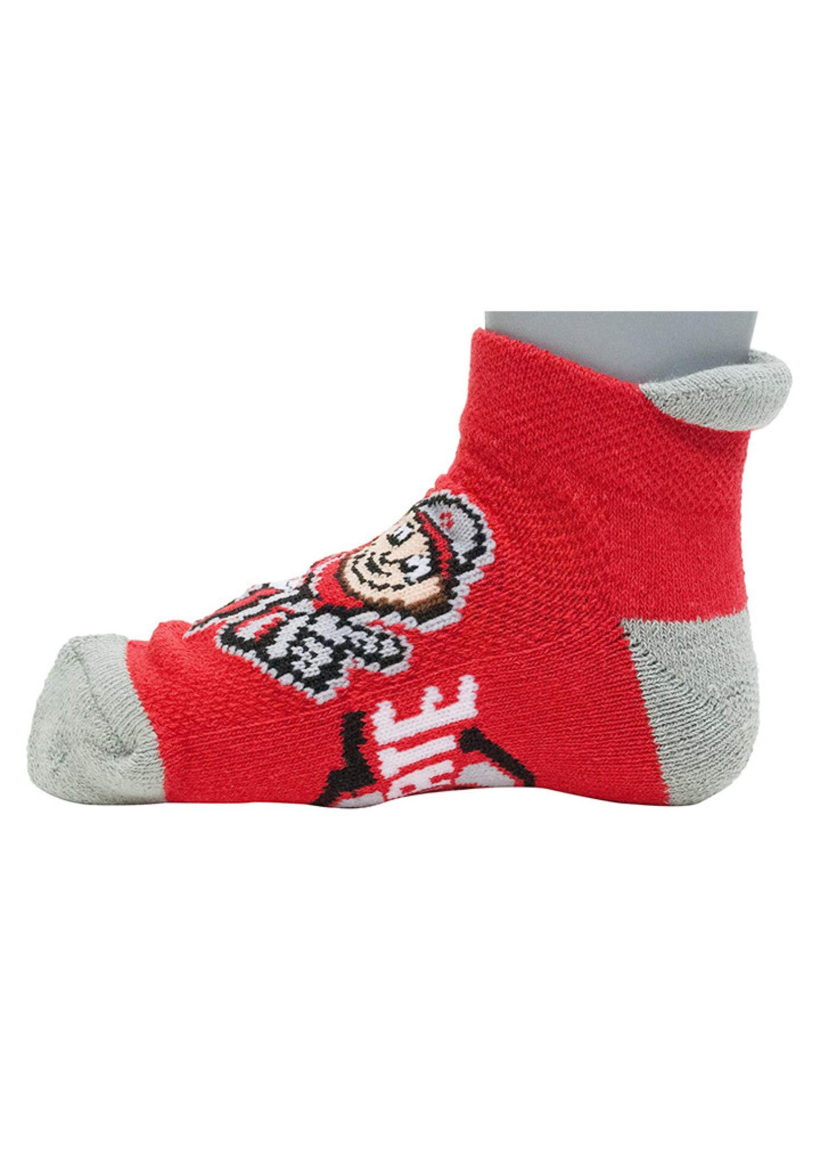 Ohio State Buckeyes Youth 3-5 Socks - Red