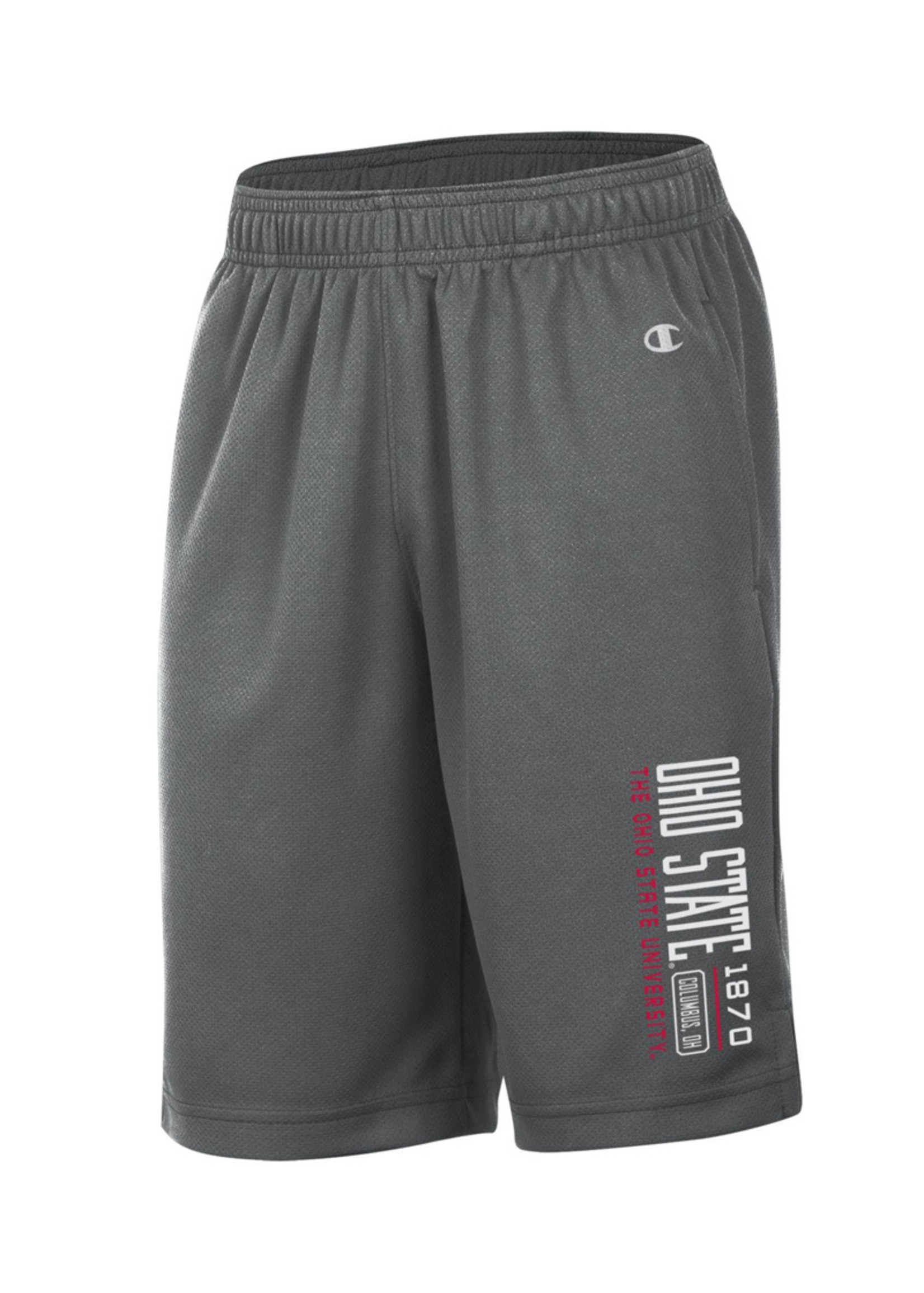 Champion Ohio State Buckeyes 1870 Youth Mesh Shorts