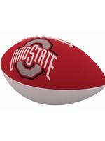 Ohio State Combo Logo Junior-Size Rubber Football