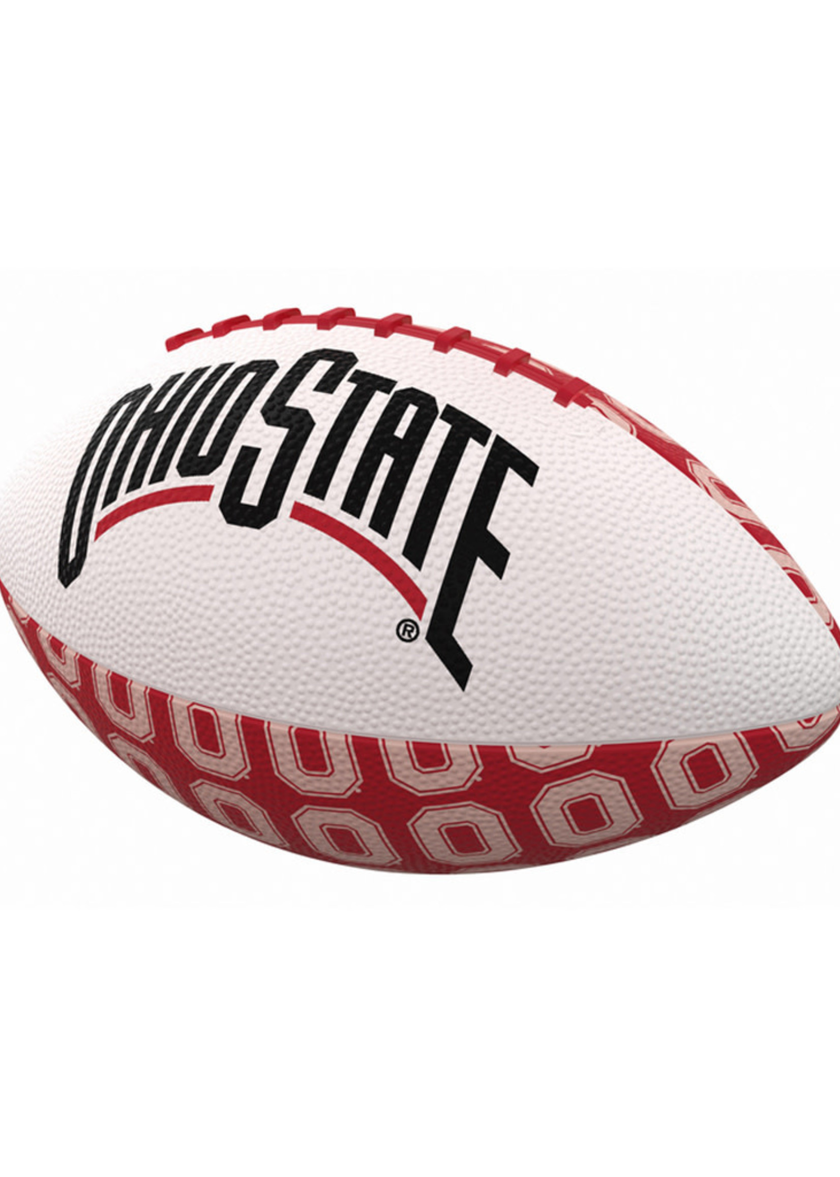 Ohio State Repeating Mini-Size Rubber Football