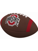 Ohio State Team Stripe Official-Size Composite Football