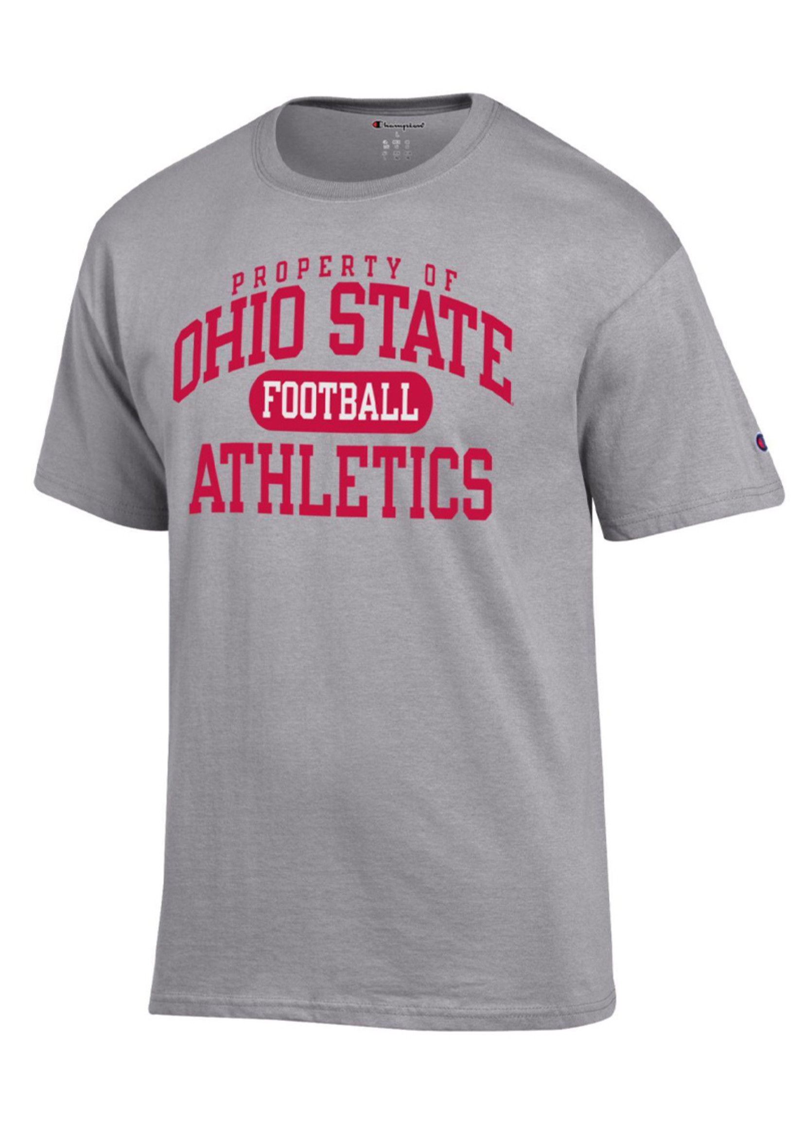 Champion Ohio State University Property of Football Tee
