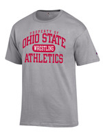 Champion Ohio State University Property of Wrestling Tee