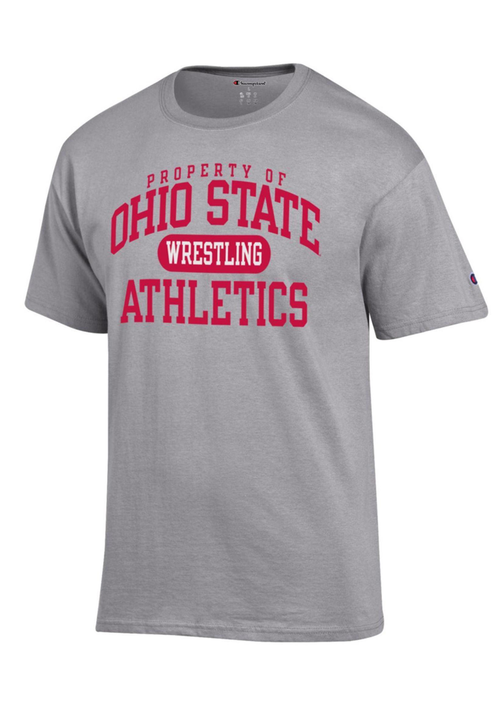 Champion Ohio State University Property of Wrestling Tee