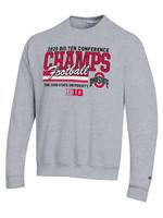 Champion Ohio State Buckeyes 2020 BIG 10 Champs Crewneck