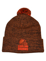 Cleveland Browns Orange and Brown Beanie