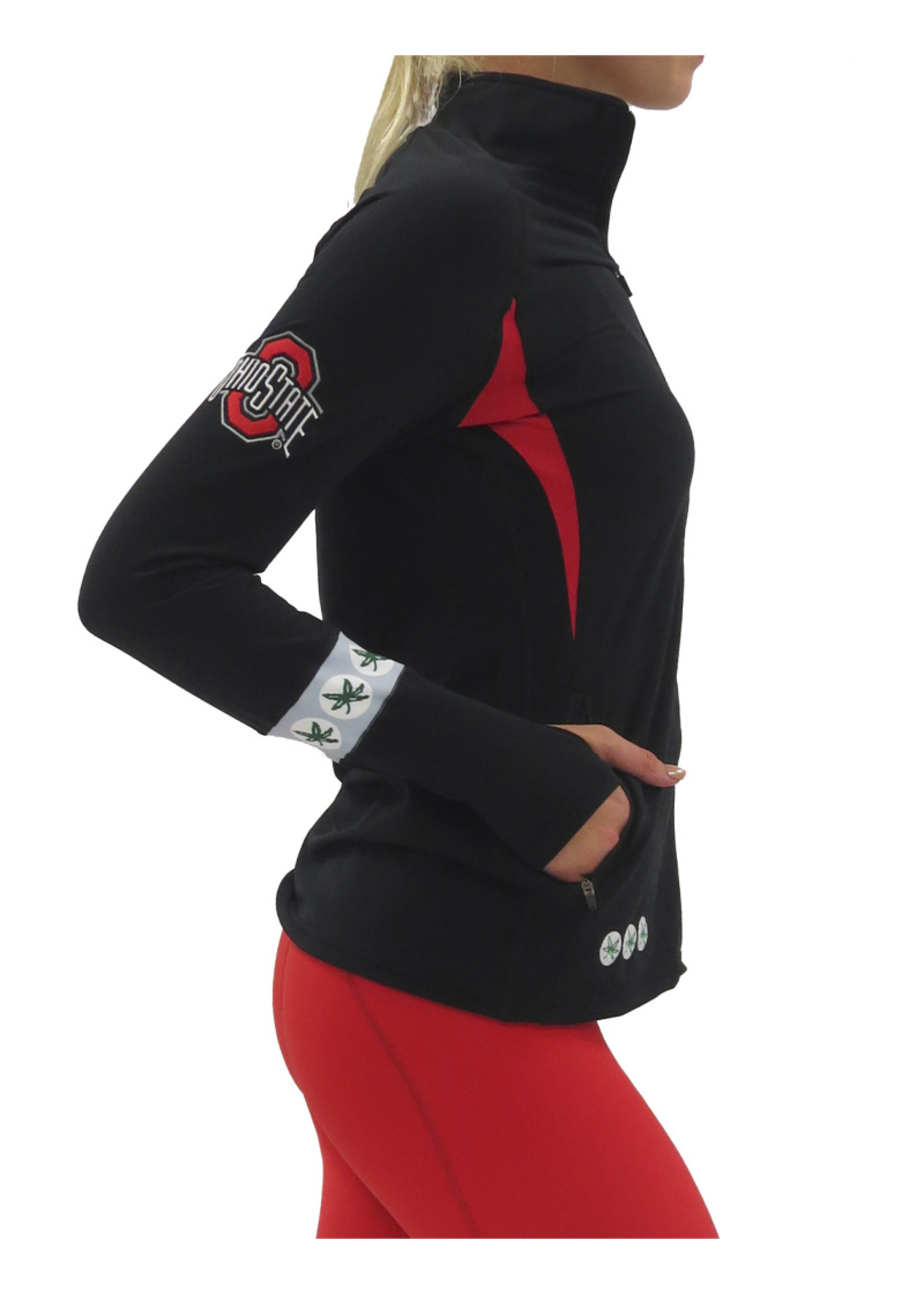 Bend The Ohio State University Full Zip Gameday Pullover