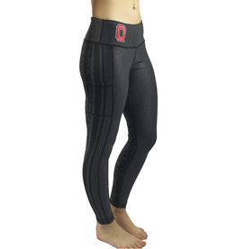"""Bend Ohio State Buckeyes """"2020 Vision"""" Game Day Legging"""