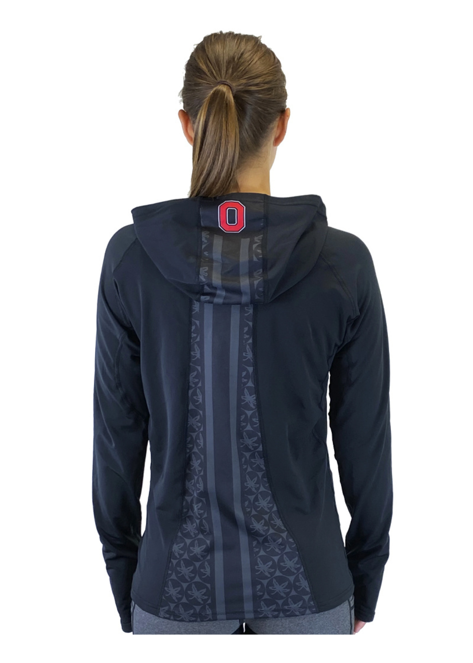 """Bend Ohio State University """"Vision"""" Pony Tail Performance Hoodie"""