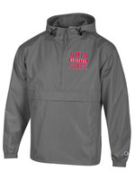 Champion Ohio State Buckeyes 1/2 Zip Lightweight Packable Jacket