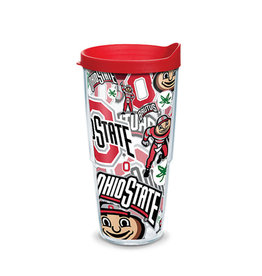 Tervis Ohio State Buckeyes All Over 24oz Tumbler