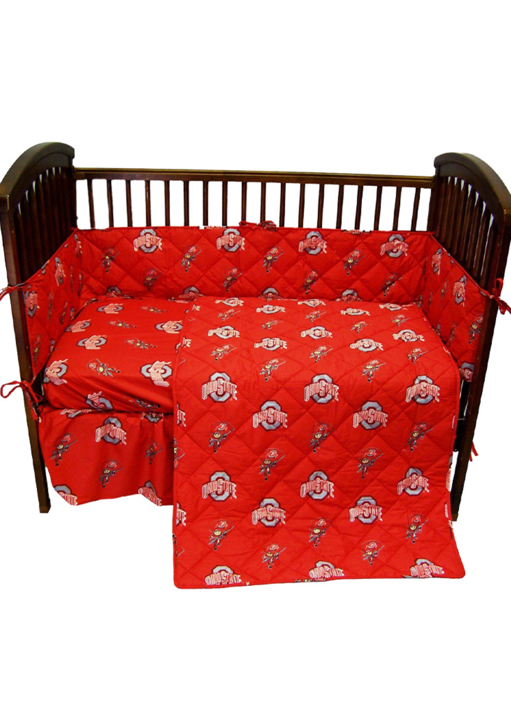Ohio State Buckeyes Crib Set