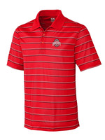 Cutter & Buck Ohio State University Venture Stripe Polo
